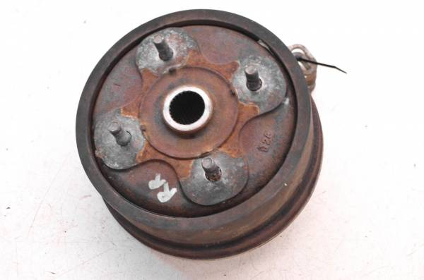 Yamaha - 99 Yamaha Grizzly 600 4x4 Rear Brake Drum Assembly YFM600F