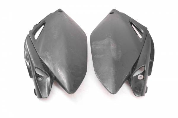 Honda - 09 Honda CRF250R Rear Side Covers Number Panels Fenders Left & Right