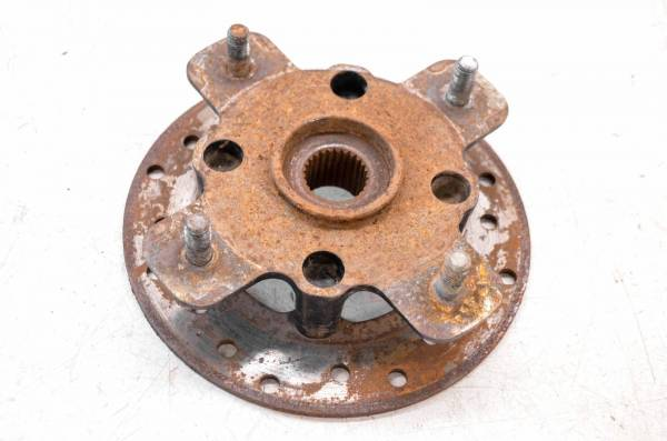Can-Am - 08 Can-Am Renegade 500 4x4 Front Wheel Hub & Rotor Left Right