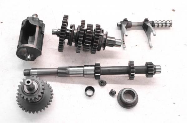 Yamaha - 99 Yamaha Grizzly 600 4x4 Transmission Gears Shift Forks & Drum YFM600F