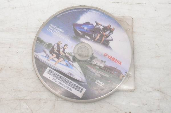 Yamaha - 16 Yamaha FX HO Owners Basic Orientation Disk FB1800R