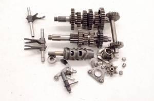 Kawasaki - 03 Kawasaki Bayou 250 2x4 Transmission Complete Shift Forks & Drum KLF250 - Image 1