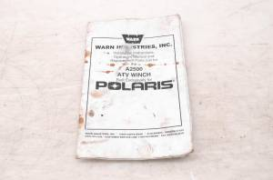 Polaris - 02 Polaris Sportsman 700 Twin 4x4 Winch Owners Manual - Image 1