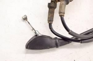 Kawasaki - 03 Kawasaki Bayou 250 2x4 Front Brake Cables & Adjuster KLF250 - Image 4