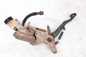 Yamaha - 02 Yamaha Grizzly 660 4x4 Rear Brake Master Cylinder & Pedal YFM660F - Image 3